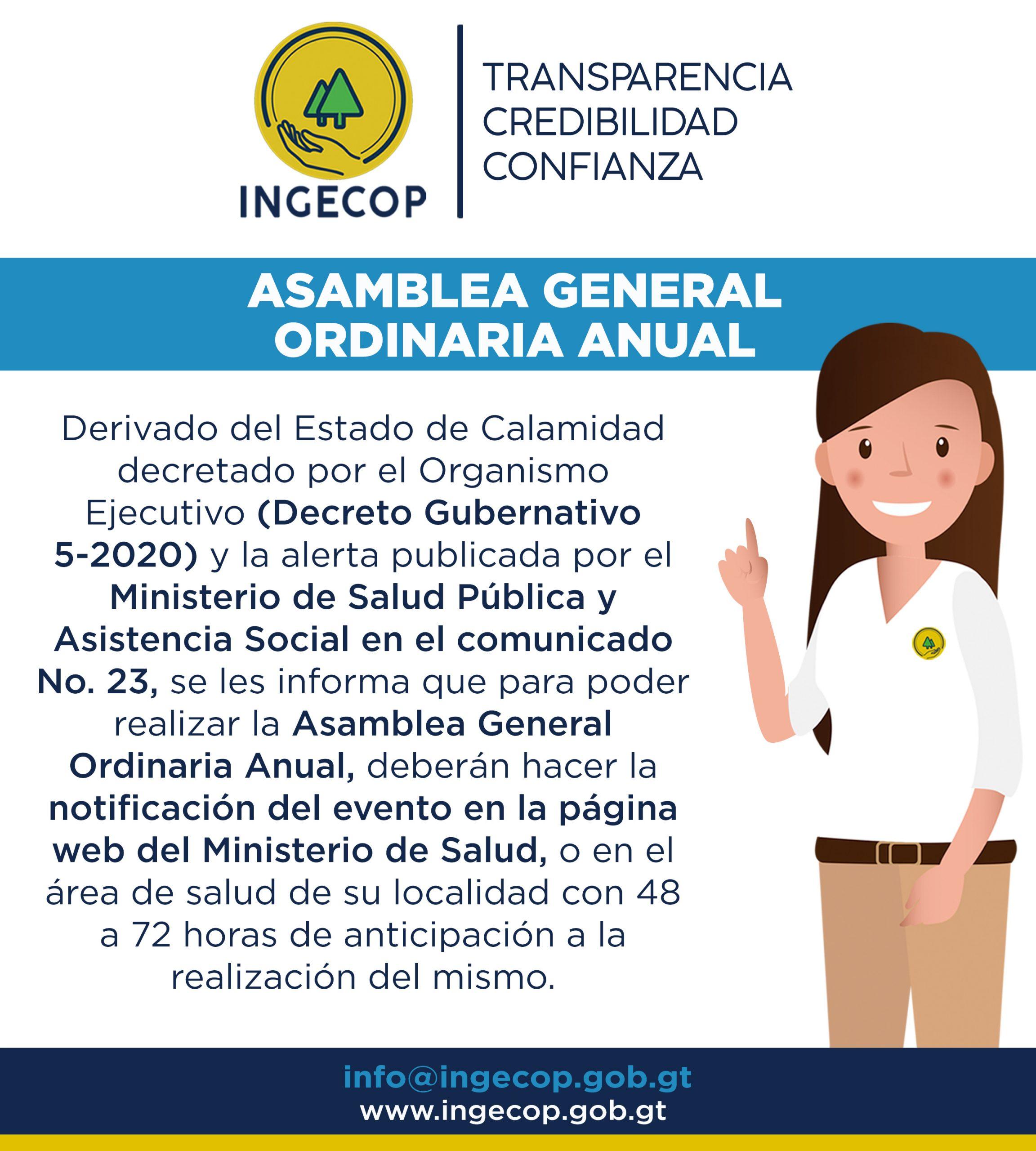 Asamblea General Ordinaria Anual